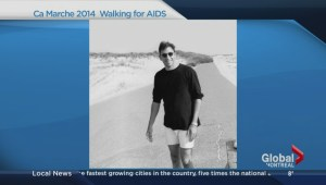 Walking for AIDS