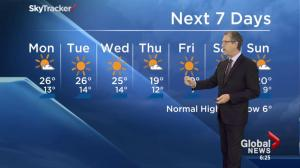 Edmonton Weather Forecast: May 24