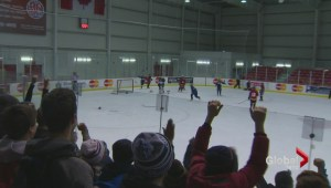 John Wanless wins TDSB hockey finals