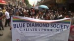 Footage of Nepal rally demanding rights for LGBT community