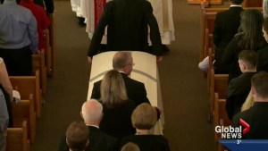 Prince Albert family lays Anthony Heffernan to rest