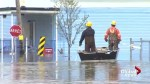 Quebec floods: Politicians head to their ridings