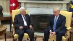 Trump vows to broker Israeli-Palestinian peace, offers no new policies