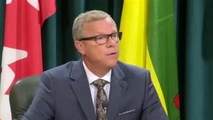 Brad Wall resigns as Premier of Saskatchewan