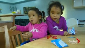 Parents of twin girls in need of liver transplants 'overwhelmed' by support