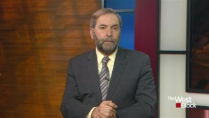 Mulcair would change bill C-51 not scrap it if he was in power