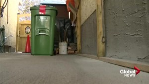 Calgary homeowner trying to reject green bin told to be patient