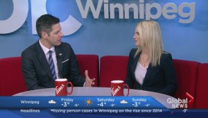Winnipeg Mayor Brian Bowman on Global News Morning