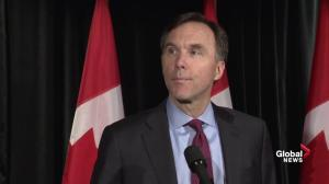 Goal of retreat is to find a way to work with Trump administration: Morneau