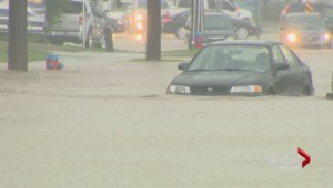 Burlington cleaning up after record rainstorm