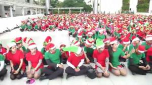 World record for largest 'elf gathering' broken in Thailand