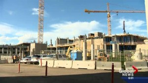 Construction halted after worker killed at Children's Hospital construction site