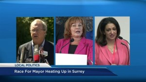 Who has the edge in Surrey mayoral race?