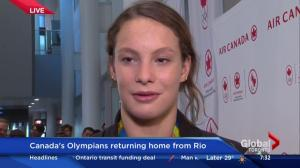 Penny Oleksiak 'sets bar pretty high' for 2020 in Tokyo