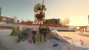 Growing memorial near site of Quebec City mosque shooting