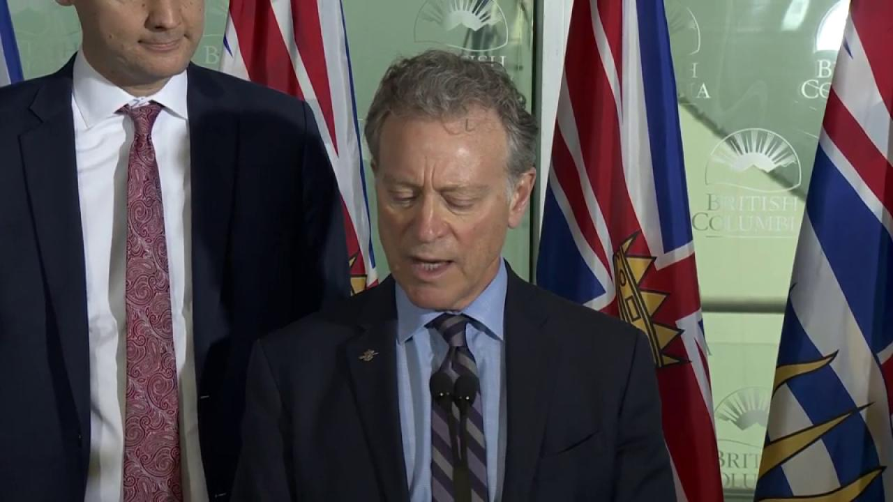 BC NDP government to make Trans Mountain Pipeline announcement Thursday
