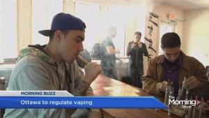 Ottawa to regulate vaping in Canada