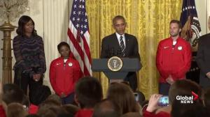 '2016 beliongs to America's women Olympians': Obama