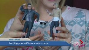 The making of Selftraits 3D printed selfies