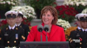 B.C. Premier Christy Clark references great, great, great, great, great grandmother of Prince George and Princess Charlotte