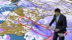 Storm Update:  Snow and freezing rain hitting the GTA