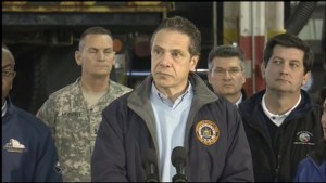 New York Governor says flooding more hazardous than recent snow storm