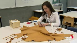 'A beautiful thing': Nova Scotia teacher makes medicine pouches for Indigenous grads