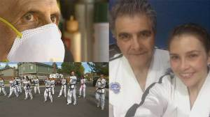 Generations of students come together for touching tribute to their dying Taekwondo master