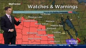 Saskatoon weather outlook – August 28