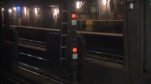Elderly man shoved in front of moving train in NYC