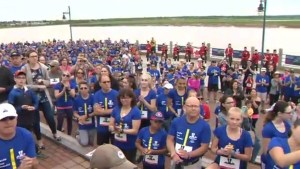 Hundreds of runners gather for Father's Day event in Moncton