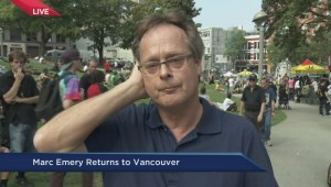 Marc Emery returns to Vancouver
