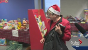 Christmas hampers distribution begins in Vernon