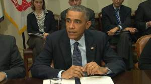 """We cannot be complacent"": Obama updates Ebola outbreak"