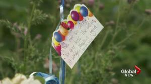 Community mourns death of child in Langley
