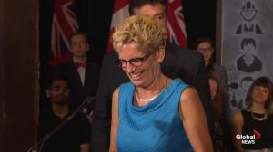 Kathleen Wynne comments on her 'spat' with Stephen Harper