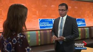 Edmonton councillor clashes with candidate vying for council seat