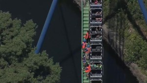 20 people get stranded on Six Flags roller coaster