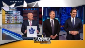Toronto Maple Leafs win first overall pick in NHL Draft Lottery