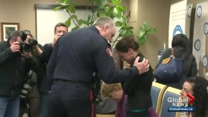 Female Calgary police veteran submits tearful public resignation