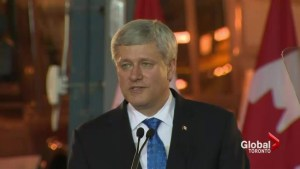 Harper announces federal funding for SmartTrack transit project