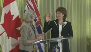 Premier swears in 'short-lived' cabinet
