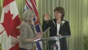 Premier swears in 'short-lived' cabinet