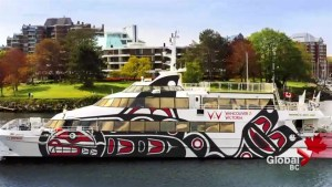 New passenger ferry to travel between Vancouver and Victoria