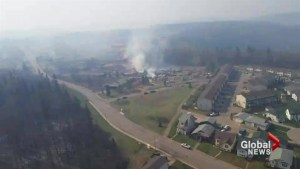 Aerial video of Fort McMurray shows devastation