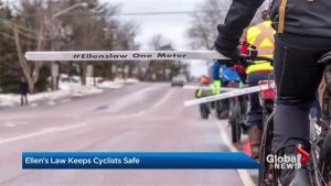 """Ellen's Law"" makes roads safer for cyclists"