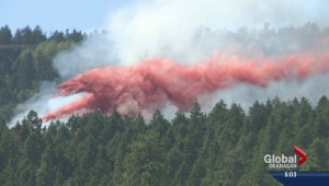 Wildfire near West Kelowna