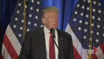 Republican presidential candidate Donald Trump outlines his plans to flight the Islamic State