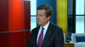 Mayor Tory on Toronto's tag-and-tow blitz