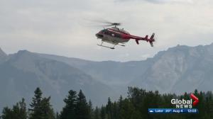 Hiker rescued from B.C. wildfire questions evacuation process